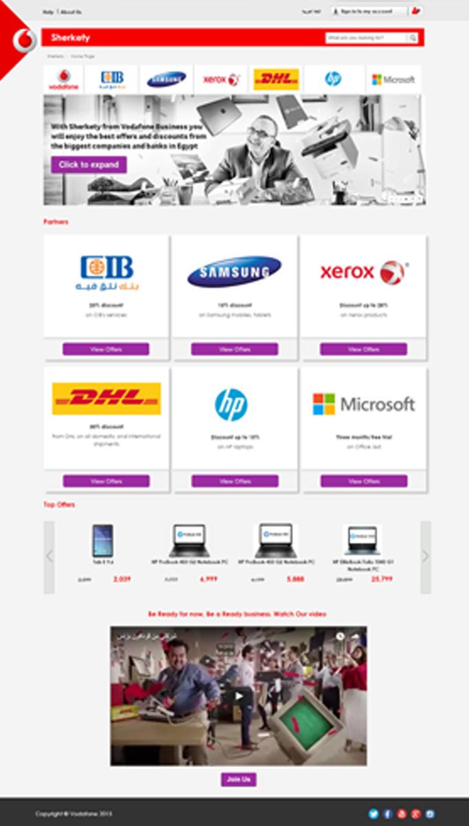 Vodafone – Sherkety